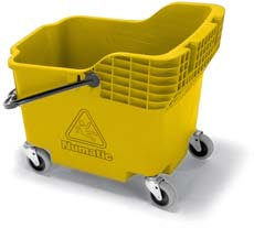 Hi-Bak 1812 Bucket 30-Litre/75mm, Yellow