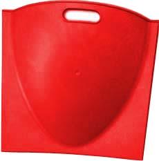 Hi-Bak 1812 Parabolic Divider, Red