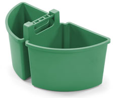 Large Caddy 10-Litres (2 x 5-Litre), Green