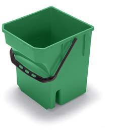 28-Litre Mop Bucket, Green