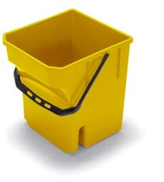 28-Litre Mop Bucket, Yellow