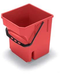 28-Litre Mop Bucket, Red