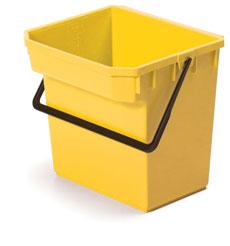 15-Litre Twinmop Pail, Yellow