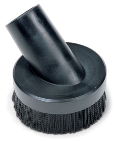 152mm Rubber Brush with Stiff Bristles (38mm)