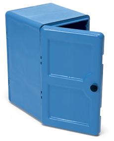 Lock Box Storage Lockers, Blue