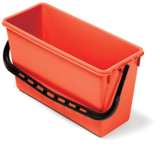 15-litre Wide Bucket, Red