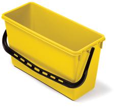 15-litre Wide Bucket, Yellow