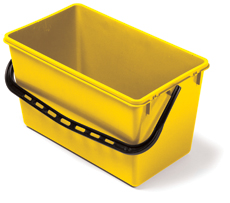 22-litre Wide Bucket, Yellow