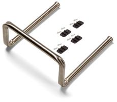 Tubular Flat Sliding Mop Support Kit, Stainless Steel