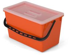 22-litre MopMatic dirt mop pail with lid
