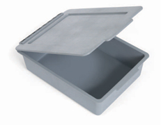 Deep 120mm Full Tray No Divisions + Lid
